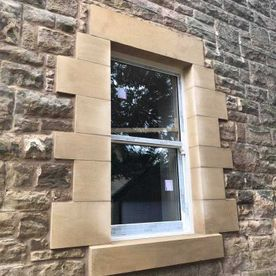 Masonry Work Window